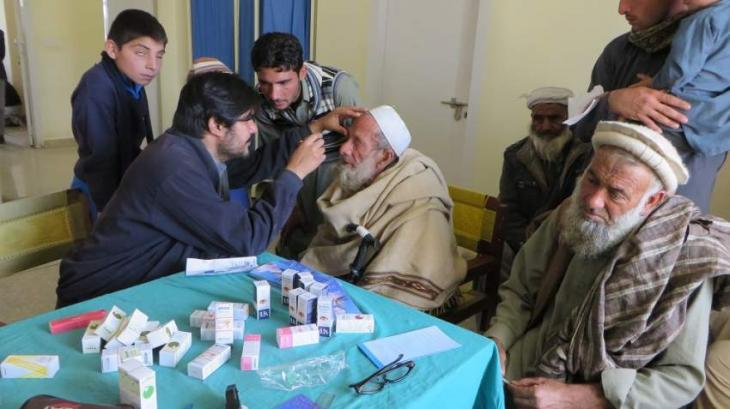 Mobile hospital free medical camp held in Orakzai district