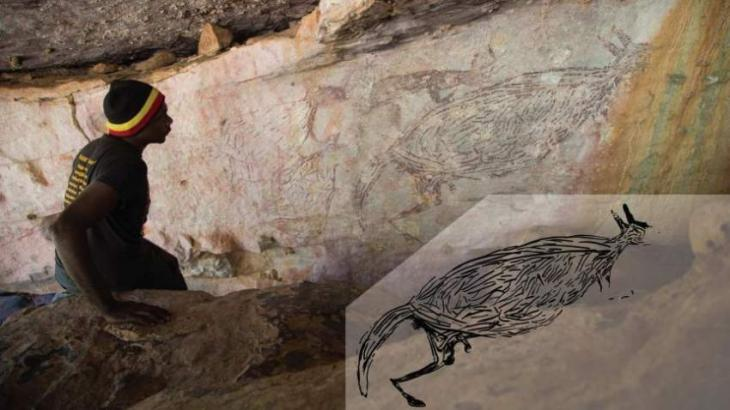 17,300-year-old kangaroo identified as Australia's oldest rock painting
