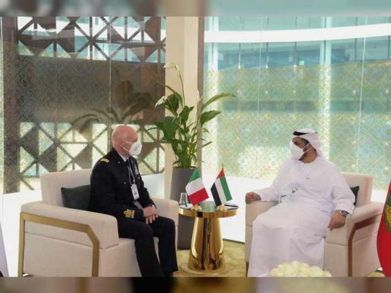 Defence under-secretary discusses cooperation with foreign defence officials at IDEX