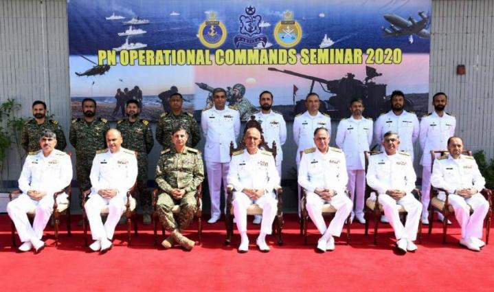 Pakistan Navy Operational Commands Seminar Held At Karachi