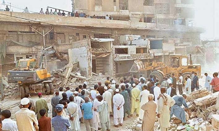 Rally held against demolition of houses during anti encroachment drive