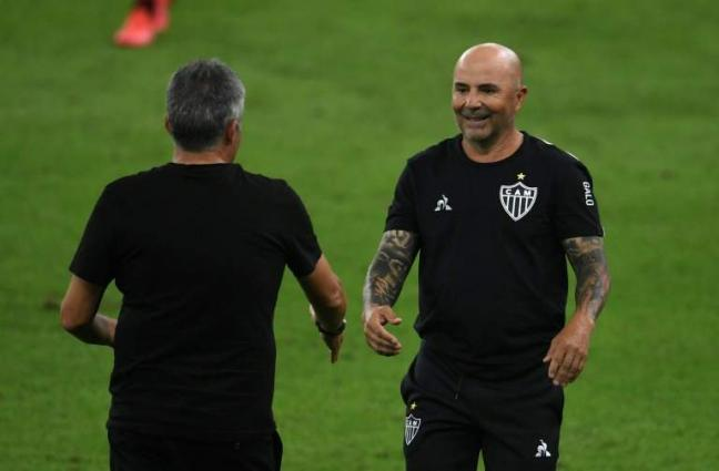 Sampaoli close to joining Marseille after quitting Atletico Mineiro