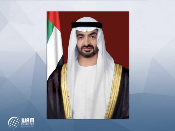 Mohamed bin Zayed continues tours of IDEX 2021