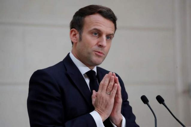 Macron Says in Favor of Appointing UN Special Envoy for Climate Change