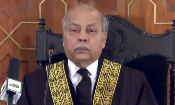 The Law has to be followed in good faith: Chief Justice Gulzar Ahmed