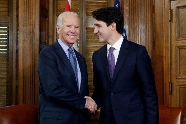 Biden, Trudeau meet to smoothen US-Canadian ties