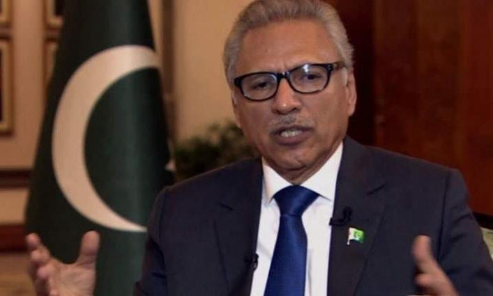 President Dr Arif Alvi for adopting electronic voting system in next general elections