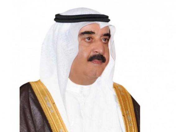 حاكم أم القيوين يهنئ خادم الحرمين الشريفين بنجاح العملية الجراحية التي أجراها ولي العهد السعودي