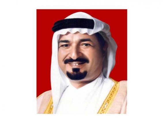 حاكم عجمان يهنئ خادم الحرمين الشريفين بنجاح العملية الجراحية التي أجراها ولي العهد السعودي وتكللت بالنجاح