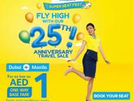 Cebu Pacific kicks off 25th anniversary with AED 1 Dubai-Manila s ..