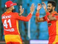 PSL 6: Islamabad United's Hassan Ali, Hussain Talat tested posi ..