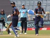 Cricket: India v England 1st ODI scoreboard