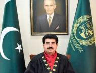 Chairman Senate of Pakistan mourns death of Hamdan bin Rashid