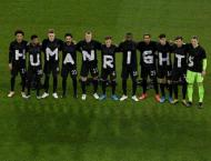 Germany escape FIFA sanction after 'Human Rights' protest