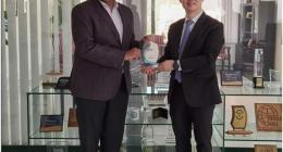 President Huawei Middle East Region Charles Yang calls on PTA Chairman Major General (Retd) Amir Aze ..