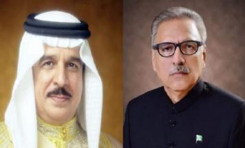 الملک البحریني یتلقی برقیة شکر جوابیة ..