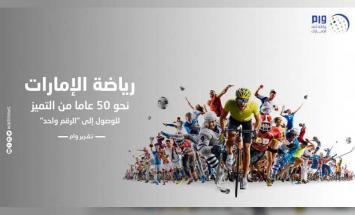 رياضة الإمارات .. نحو 50 عاما من التميز ..