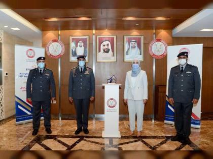 """شرطة أبوظبي أول جهة شرطية تُصنف عالميًا بـ""""6 نجوم"""" ضمن """" الأوروبية للجودة """""""
