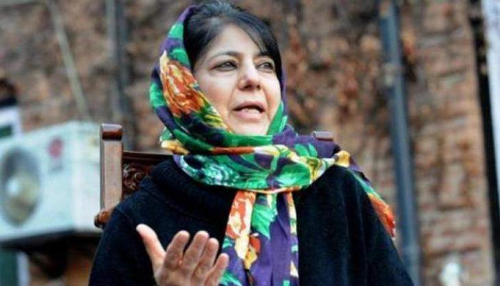 Peaceful struggle imperative for restoration of our rights: Mehbooba Mufti thumbnail