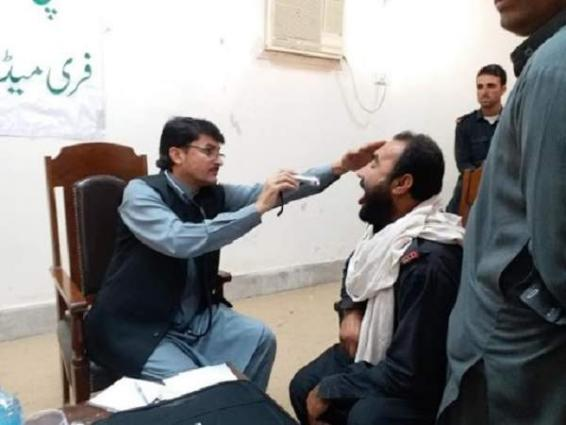 Six-day free medical camp held for Khyber distt Bara