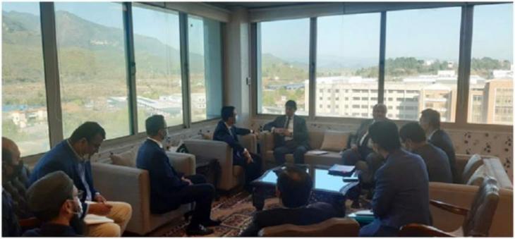 Huawei Delegation lauded the efforts of the MoIT Regarding digitalization