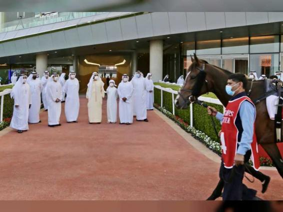 Mohammed bin Rashid attends Super Saturday at Meydan racecourse thumbnail