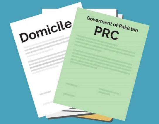 Domicile, PRCs  to issue after scrutiny