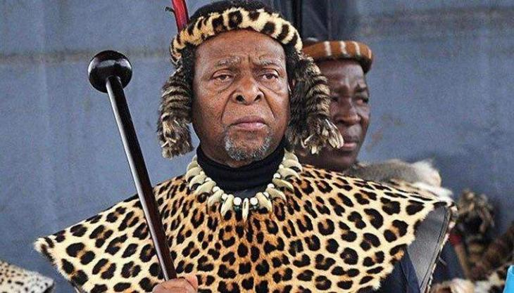 South Africas Zulu King Goodwill Zwelithini Dies Aged 72 - UrduPoint