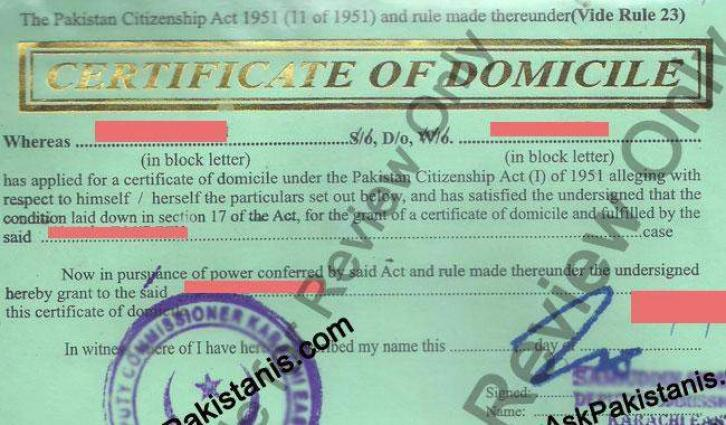 Mardan admin starts free delivery of domicile certificates