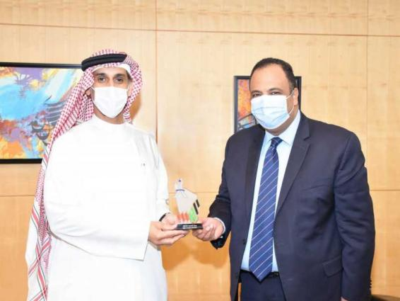 Expo Centre Sharjah, Egyptian Commercial Office discuss strengthening cooperation