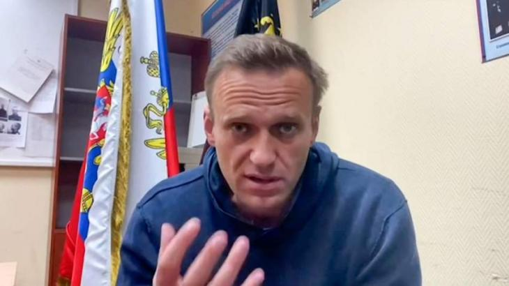 Russia's Detention Authority Says Navalny's Health Condition Is Assessed as Satisfactory