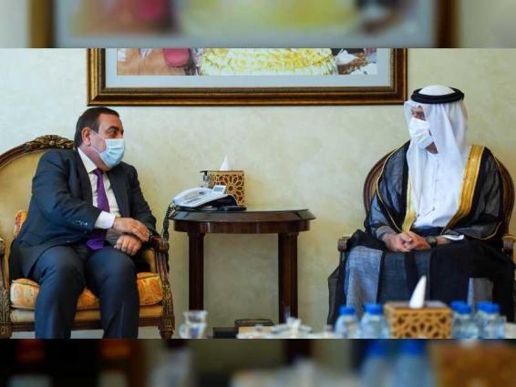 RAK Ruler receives Iraqi official