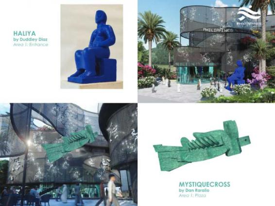 Philippines dedicates Sculptors stage in its Expo 2020 pavilion