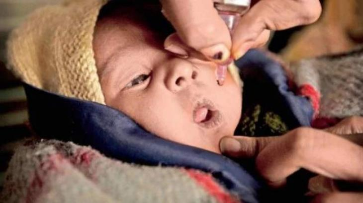 Provincial advisor inaugurates polio campaign