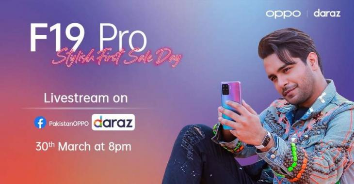 OPPO's F19 Pro Live Stream First Sale on Daraz is All Set Featuring Asim Azhar to Have Fun With Every Shoot