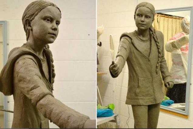 UK University Unveils Life-Sized Statue of Greta Thunberg Despite Public Outcry - Reports