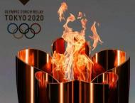 Olympic torch relay barred from public roads across Japan's Osaka ..