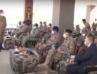 CJCSC visits Army Air Defence Ranges; witnesses firing of differe ..