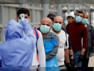Palestine records 2,418 new coronavirus cases, 33 deaths
