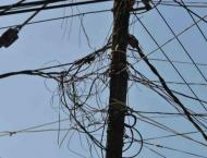 Two held over power theft