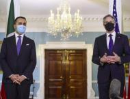 Italian foreign minister the first to visit Biden's Washington