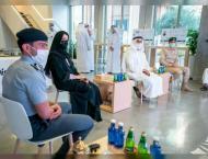 Saif bin Zayed attends large-scale strategic training drills on s ..