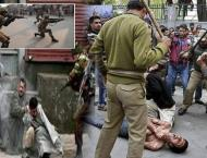 Indian police arrest four youngsters in IIOJK