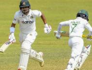 Record stand for Shanto and Mominal puts Bangladesh in charge of  ..