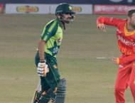 Pakistan chases 119 target in 2nd T20I match against Zimbabwe