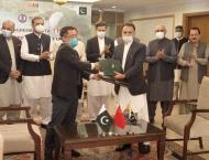 Agreement of implantation of water uses  for CPEC-sponsored $2.4  ..