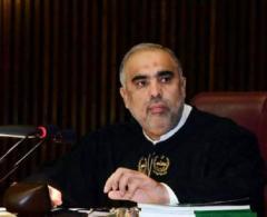 رئیس البرلمان الباکستانی یعزي بوفاة الرئیس السابق لشرطة ..