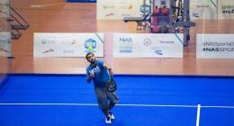 Al Kamali looking to go far in NAS Padel Championship alongside partner Al Qasim