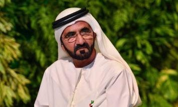 محمد بن راشد يأمر بصرف 14 مليون درهم لملاك ..