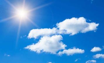 طقس الغد صحو بوجه عام ومائل للحرارة نهارا ..